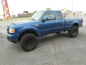2009 Ford Ranger lift kit  plus 4 pneus et mags mickey thompson