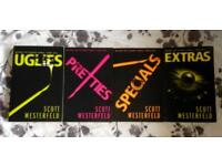 Uglies books series Scott Westerfeld, uglies, pretties, specials, extras for sale young adult