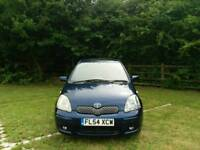 TOYOTA YARIS AUTOMATIC TSPRIT 2004 5DOOR MOT TILL 30/07/2018 WARRANTED MILES EXCELLENT CONDITION