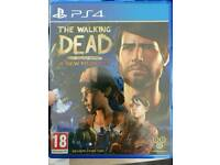 PS4 Game The Walking Dead A New Frontier