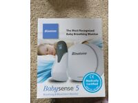 Binatone - baby sense 5, breathing and movement monitor