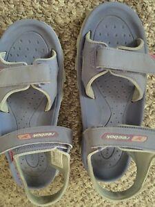 Reebok sandals.   Non-marking.   Water proof