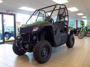 2017 Honda Pioneer 500 SxS - $39 Weekly Tax Included - SAVE $500