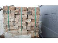 Reconstituted Stone bricks (3 pallets)