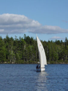 Squadron 13 Sailboat (Comparable to Laser II and 420 Class)