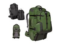 Thrive Eagle Creek 90l Travel-pack /Backpack system (TWO PACKS IN ONE, GREY)