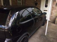 Vauxhall corsa 1.4 Twinport black
