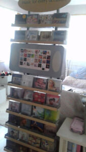 Music For Every Occassion, Retail Music Stand filled with cds