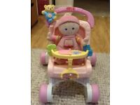 Fisher price - baby walker / pram style