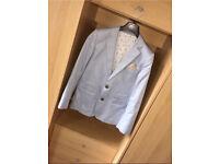 *Reduced* ROCHA JOHN ROCHA sky blue suit 12Y