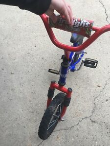 "12"" kids firelight bike"