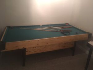 Full Size Pool Table with Accessories