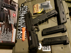 Tippmann TiPX and empire sniper