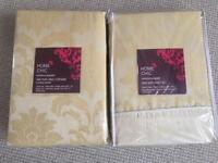 King size Duvet set & Curtains (Brand new) packaged.
