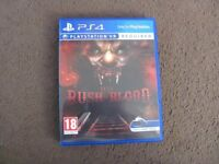 playstation ps4 VR game until dawn rush of blood