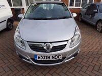 Vauxhall Corsa 1.2 2008, 2 owners, 11 months MOT, 85k miles, FSH, £2200