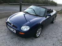 MG MGF TF 1.8 Convertible Rear Wheel Drive - Long MOT June 2018 - Great driver very fast