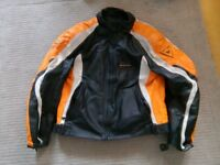Dainese men's motorcycle jacket with inner