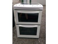 6 MONTHS WARRANTY Tricity 60cm, double oven electric cooekr FREE DELIVERY