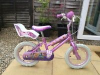 "14"" Disney Princess bike"