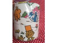 Vintage Mr Men Lampshade and Bunting
