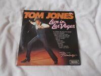 Vinyl LP Tom Jones Live In Las Vegas Decca SKL 5032 Stereo