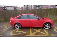 Red volvo s40 T5 2.4. 77,000 miles