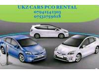 PCO CARS FOR HIRE/ UBER READY/ TOYOTA PRIUS/ ONLY FROM £90 P/W
