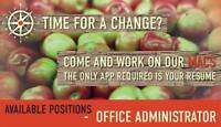 Love bookkeeping, organizing & Craft Cider? Then we need you.