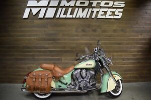 2017 Indian CHIEF VINTAGE DEMO