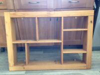 Wall unit, 104cm x 72 cm. Pine.. make good home project