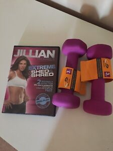 Workout DVD and weights