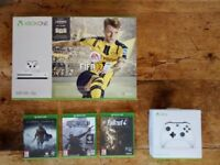 Xbox One S (500GB) + Wireless Controller & Games