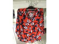 Very now size 8 ladies floral blouse/shirt