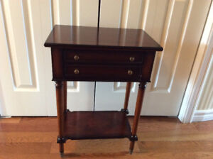 Small Decorator table with drawer