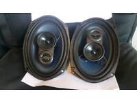 "Car audio 3 way speakers 6"" × 9"" 300W"