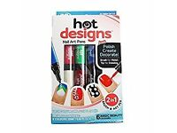 JML Hot Designs Nail Art Pens. Joblot, Carboot