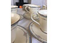 Royal Doulton cups, saucers, plates, milk jug