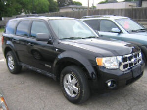 2008 Ford Escape XLT SUV, 4WD