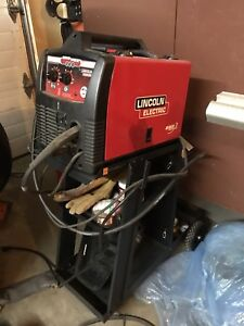 Lincoln electric mig pak 140 welder