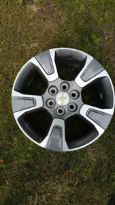 "Chevrolet Colorado/ GMC Canyon 17"" Aluminum wheels new $450.00"