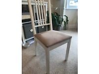IKEA White dining room chair