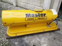 Master Space Heater for spares or repair