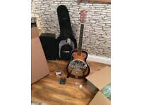 Resonator guitar and accessories