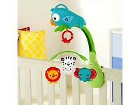 Fisher price rainforest 3-in-1 baby mobile