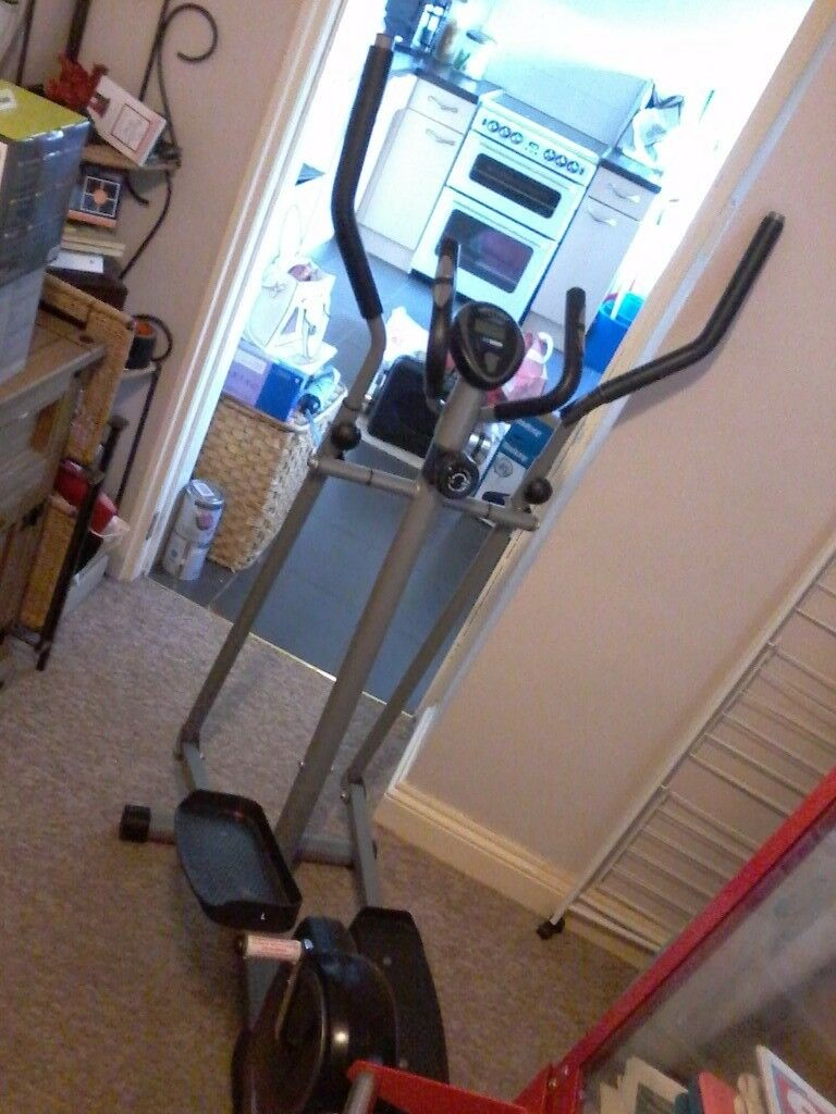 Pro fitness cross trainerclothes hangerin Rhiwbina, CardiffGumtree - Pro fitness cross trainer In good working order and condition Not being used Fed up with looking at it Comes in very handy as a clothes rack if you Arent using it ) Can deliver for fuel costs No offers bargain for £10