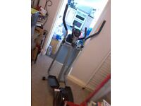 Pro fitness cross trainer / clothes hanger