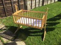 Baby Swinging Crib/Cot