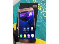 Samsung galaxy S7 Rose Gold unlocked 32gb with warranty