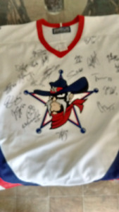 Signed Kitchener Rangers Jersey